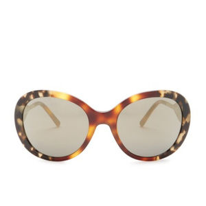 Burberry Accessories - Burberry 57mm Oversized Tortoise Sunglasses